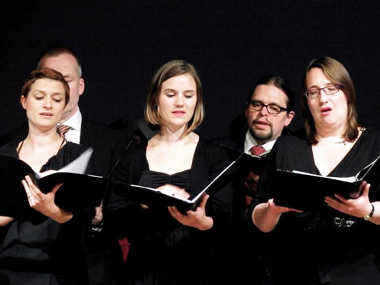 Der Synagogalchor Hannover live 2018 in der Bayerischen Musikakademie, Marktoberdorf, Eröffnungskonzert des Festivals Musica Sacra International