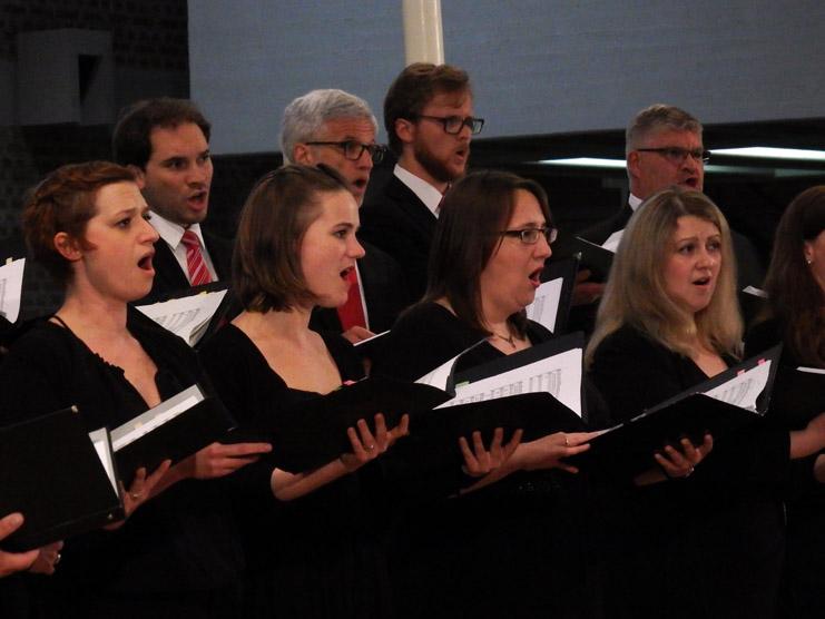 Der Synagogalchor Hannover live 2018 in St. Magnus, Marktoberdorf, beim Festival Musica Sacra International