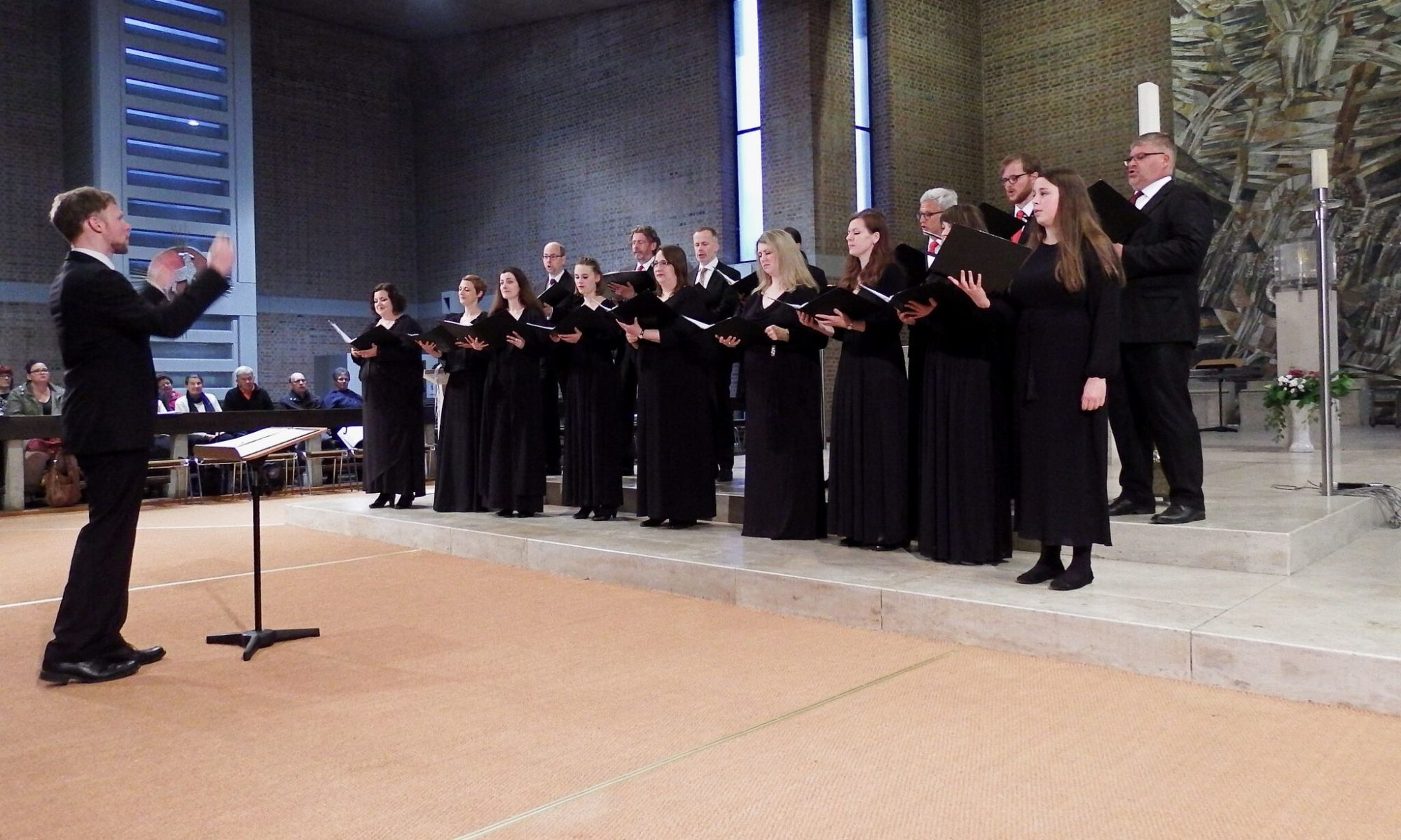 Synagogalchor Hannover live 2018 in St. Magnus, Marktoberdorf